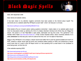Black Magic Idiot