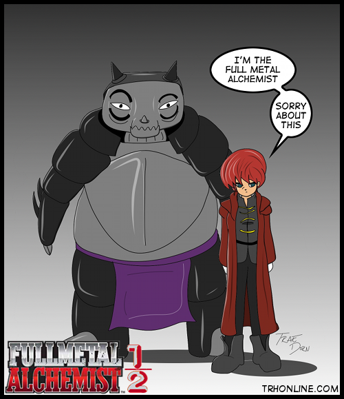 Ranma 1/12 and Full Metal Alchemist Mashup