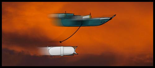 airship chase