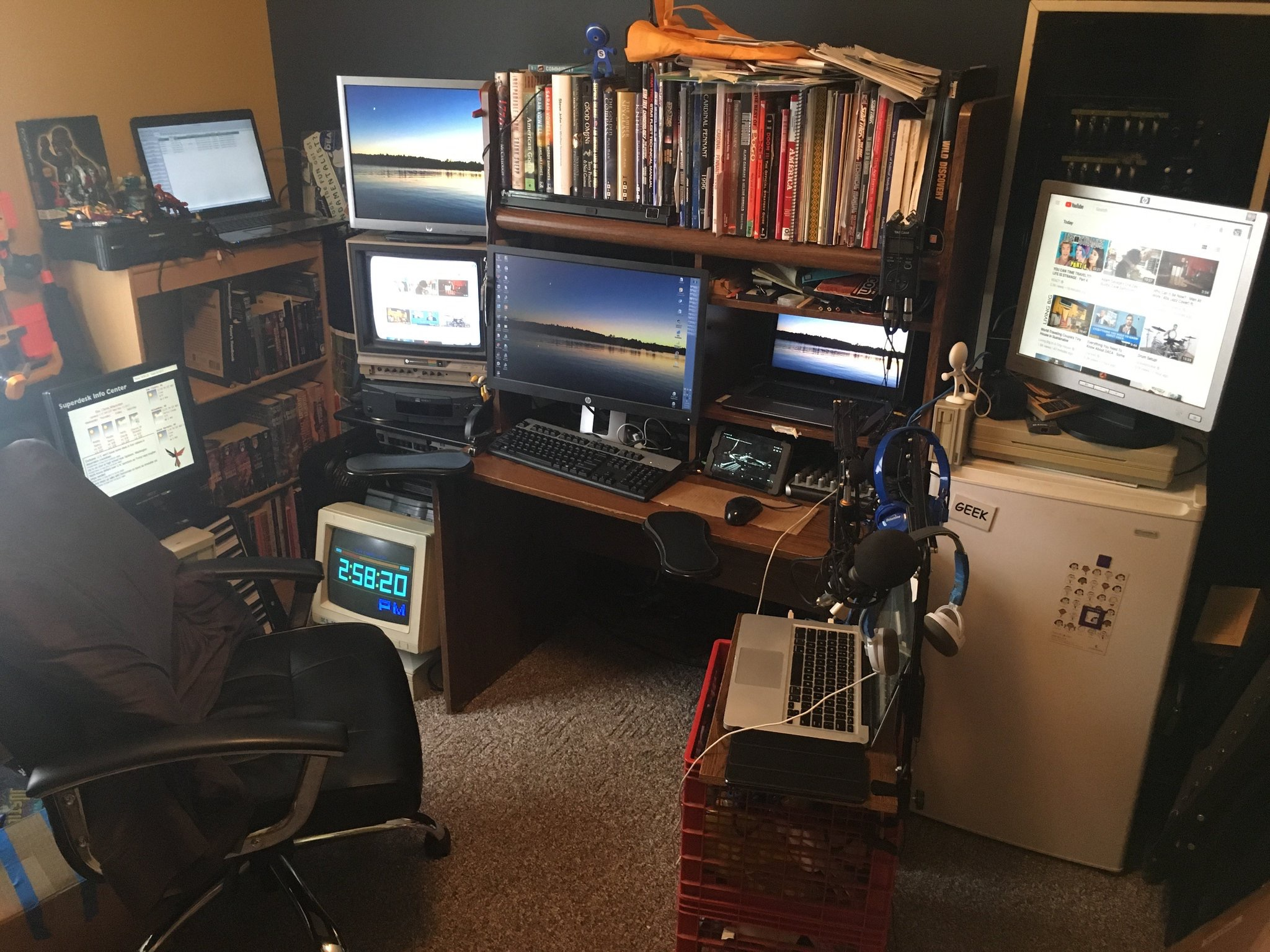 cyberpunk desk
