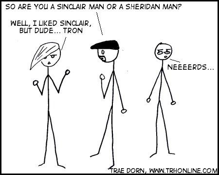 Sinclair? No way.  TRON ALL THE WAY!