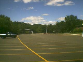 Empty Phillips Parking lot... You'll never see it this way again, ever