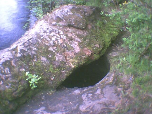 It's a rock.  Really.