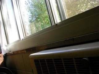 Odd photo OF a Window