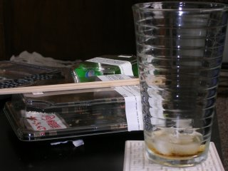 Empty Box of Sushi, Empty Glass of Root Beer