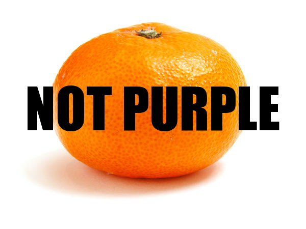 Not Purple